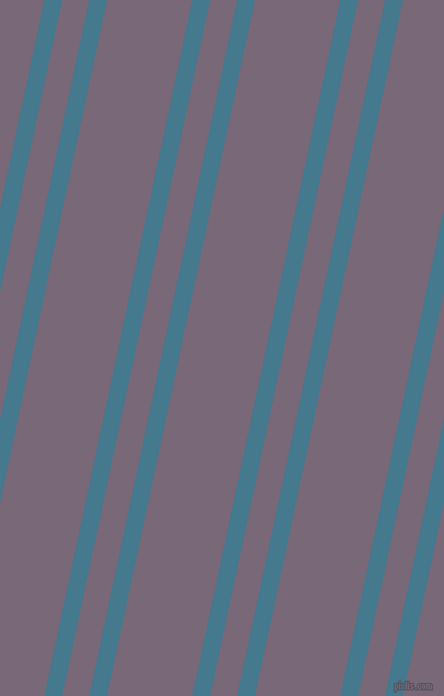 78 degree angle dual striped lines, 16 pixel lines width, 24 and 76 pixel line spacing, Jelly Bean and Old Lavender dual two line striped seamless tileable