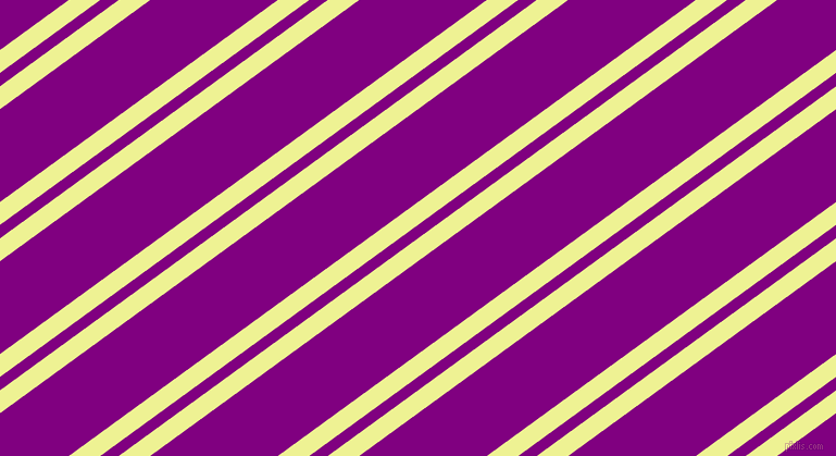 36 degree angle dual striped lines, 17 pixel lines width, 10 and 69 pixel line spacing, Jonquil and Purple dual two line striped seamless tileable