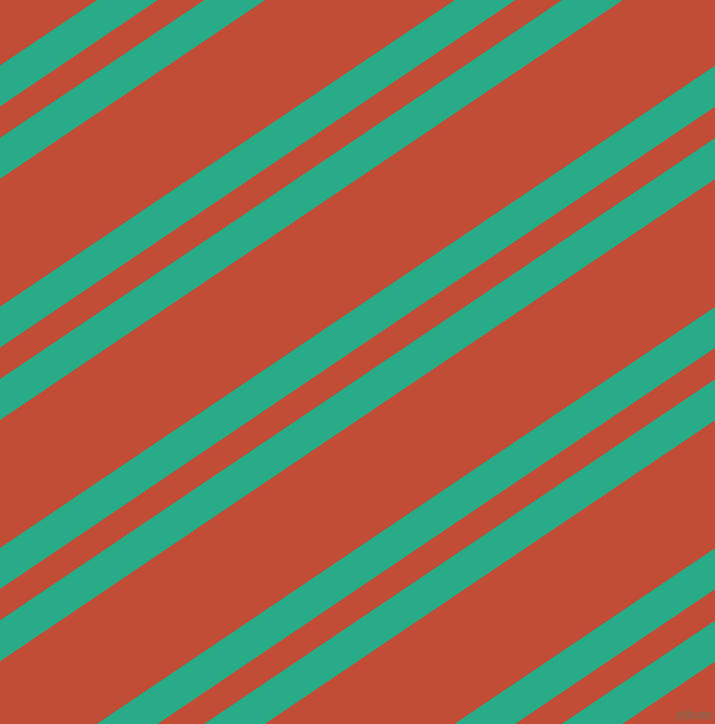 34 degree angles dual stripe lines, 34 pixel lines width, 26 and 106 pixels line spacing, Jungle Green and Grenadier dual two line striped seamless tileable
