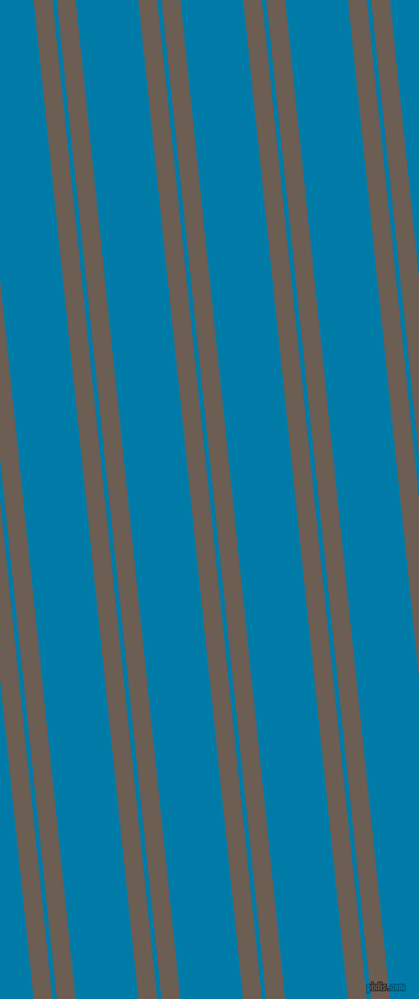 96 degree angle dual stripes line, 17 pixel line width, 4 and 57 pixel line spacing, Kabul and Cerulean dual two line striped seamless tileable