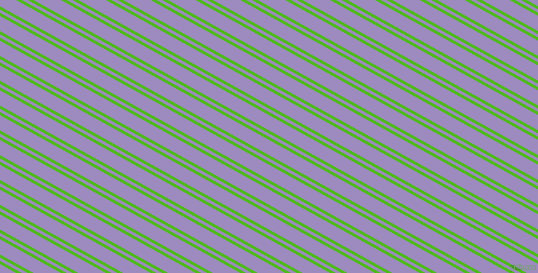 151 degree angles dual stripe lines, 4 pixel lines width, 4 and 19 pixels line spacing, Kelly Green and Cold Purple dual two line striped seamless tileable