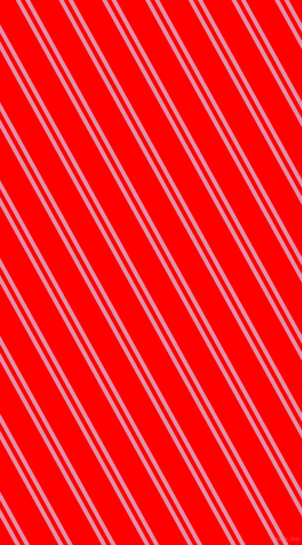 119 degree angle dual striped lines, 6 pixel lines width, 6 and 37 pixel line spacing, Kobi and Red dual two line striped seamless tileable