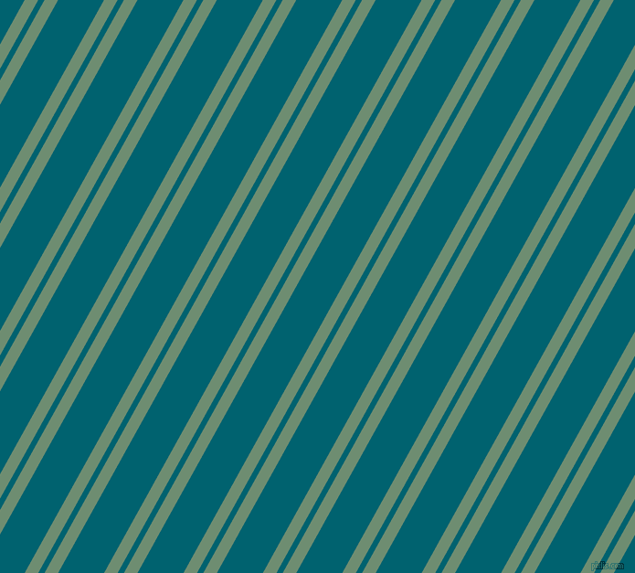 61 degree angles dual striped line, 13 pixel line width, 6 and 44 pixels line spacing, Laurel and Blue Lagoon dual two line striped seamless tileable