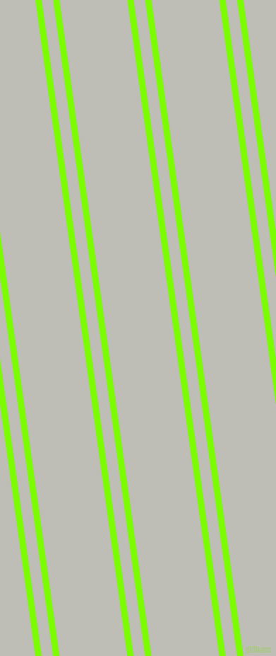98 degree angle dual stripe lines, 9 pixel lines width, 16 and 95 pixel line spacing, Lawn Green and Silver Sand dual two line striped seamless tileable