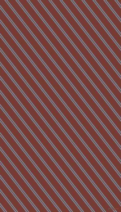 128 degree angles dual stripe lines, 3 pixel lines width, 2 and 20 pixels line spacing, Light Slate Grey and Crown Of Thorns dual two line striped seamless tileable