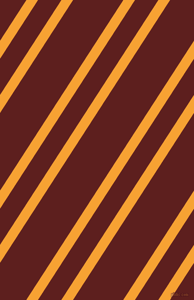 57 degree angle dual stripe line, 20 pixel line width, 40 and 86 pixel line spacing, Lightning Yellow and Red Oxide dual two line striped seamless tileable