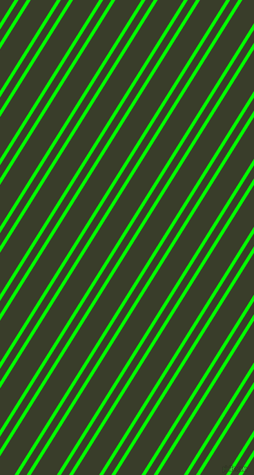 58 degree angle dual striped lines, 5 pixel lines width, 10 and 32 pixel line spacing, Lime and Green Kelp dual two line striped seamless tileable