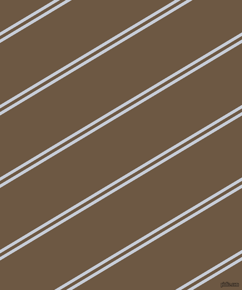 31 degree angle dual stripes line, 6 pixel line width, 6 and 105 pixel line spacing, Link Water and Tobacco Brown dual two line striped seamless tileable