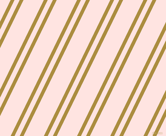 64 degree angle dual stripe line, 12 pixel line width, 16 and 63 pixel line spacing, Luxor Gold and Misty Rose dual two line striped seamless tileable