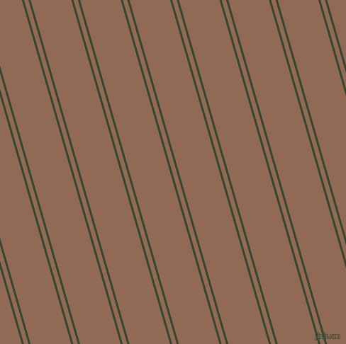 106 degree angle dual stripe line, 3 pixel line width, 6 and 55 pixel line spacing, Mallard and Leather dual two line striped seamless tileable