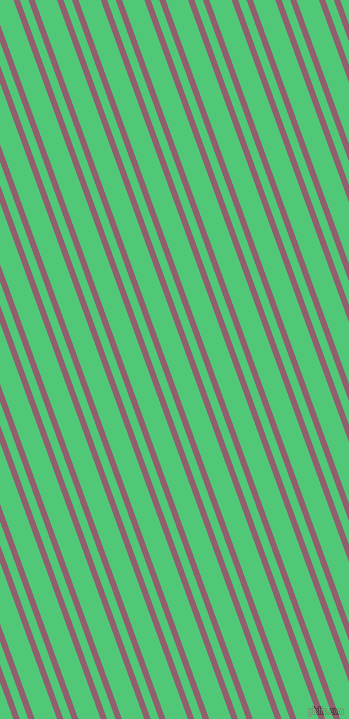 110 degree angles dual stripe lines, 6 pixel lines width, 8 and 21 pixels line spacing, Mauve Taupe and Emerald dual two line striped seamless tileable