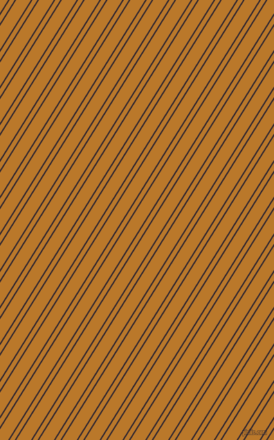 58 degree angle dual stripe line, 2 pixel line width, 6 and 18 pixel line spacing, Melanzane and Pirate Gold dual two line striped seamless tileable