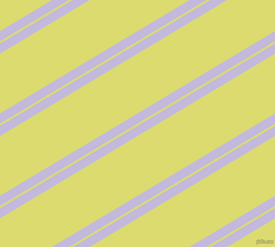 31 degree angle dual stripes line, 18 pixel line width, 4 and 106 pixel line spacing, Melrose and Goldenrod dual two line striped seamless tileable
