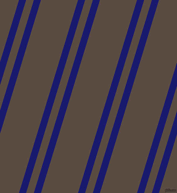 73 degree angle dual stripes line, 22 pixel line width, 24 and 115 pixel line spacing, Midnight Blue and Cork dual two line striped seamless tileable