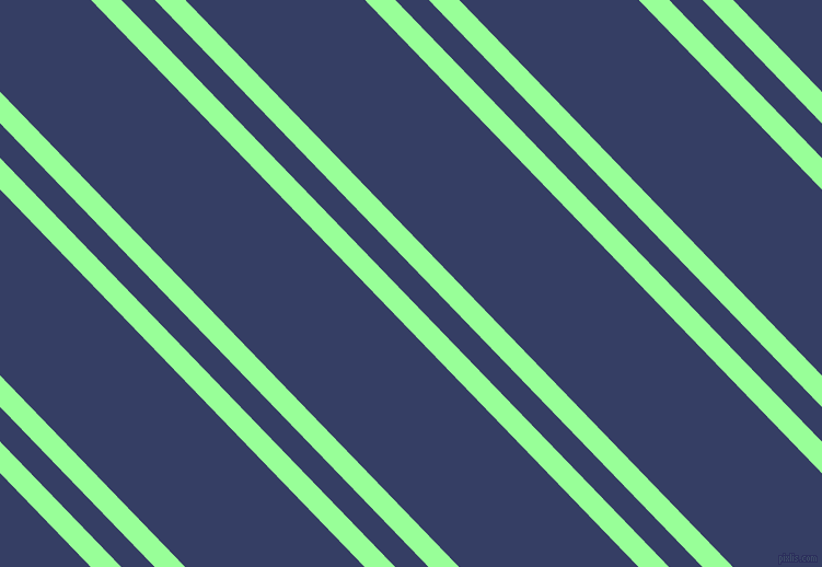 134 degree angles dual striped lines, 20 pixel lines width, 22 and 118 pixels line spacing, Mint Green and Bay Of Many dual two line striped seamless tileable