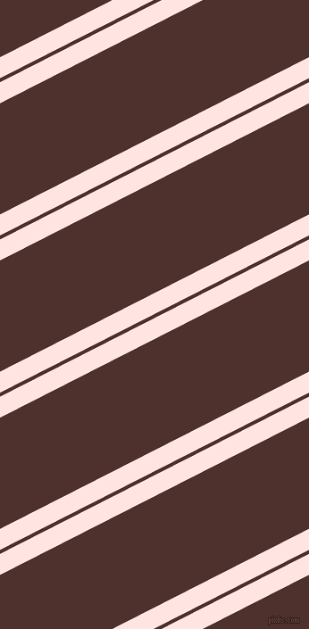27 degree angle dual stripe line, 21 pixel line width, 4 and 111 pixel line spacingMisty Rose and Espresso dual two line striped seamless tileable