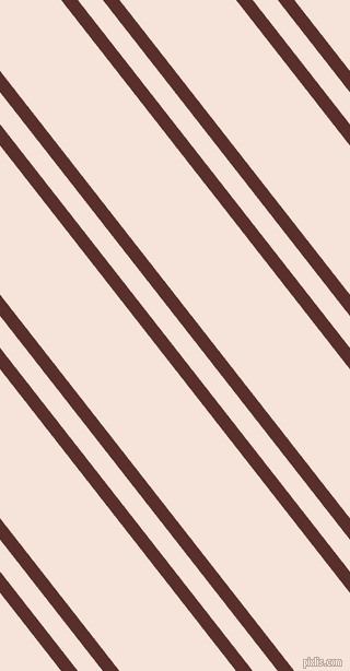 128 degree angles dual stripe lines, 12 pixel lines width, 18 and 84 pixels line spacing, Moccaccino and Provincial Pink dual two line striped seamless tileable