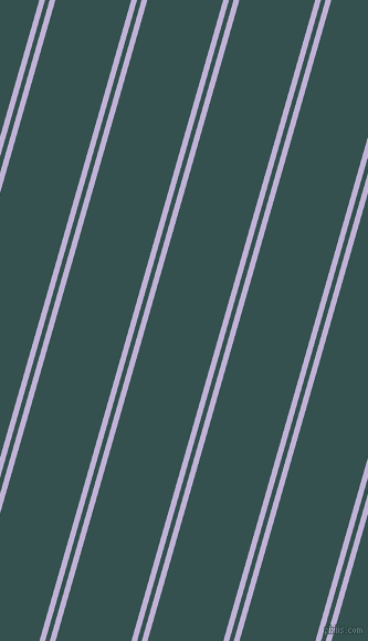 74 degree angles dual stripes lines, 5 pixel lines width, 4 and 66 pixels line spacing, Moon Raker and Blue Dianne dual two line striped seamless tileable