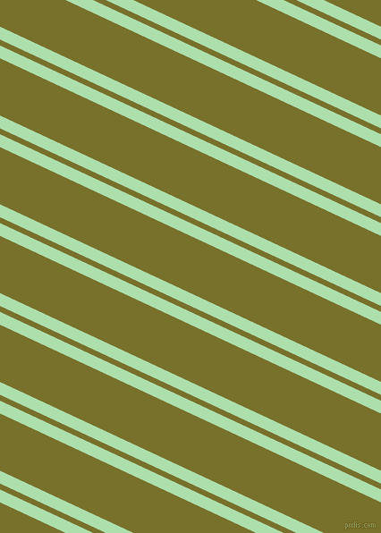 155 degree angle dual stripe lines, 13 pixel lines width, 6 and 58 pixel line spacing, Moss Green and Crete dual two line striped seamless tileable