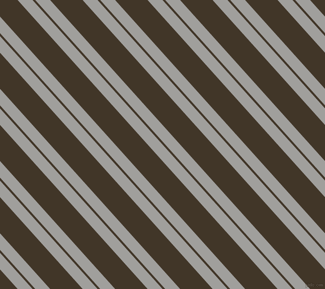 132 degree angle dual striped lines, 22 pixel lines width, 4 and 48 pixel line spacing, Mountain Mist and Jacko Bean dual two line striped seamless tileable
