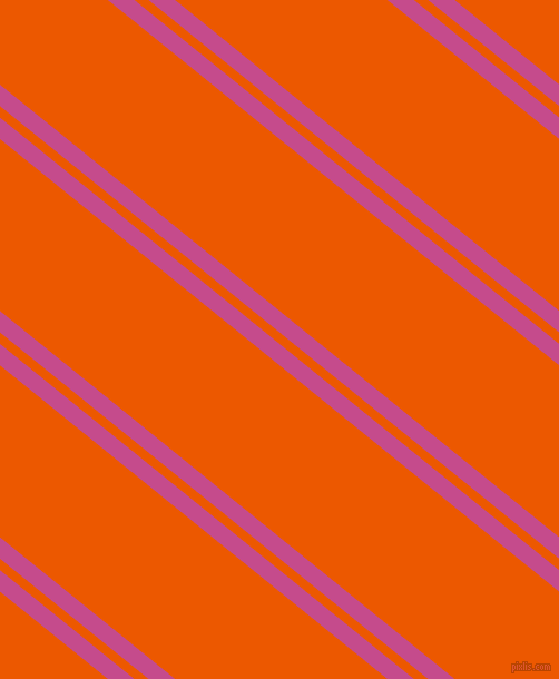 141 degree angles dual stripe line, 15 pixel line width, 8 and 120 pixels line spacing, Mulberry and Persimmon dual two line striped seamless tileable