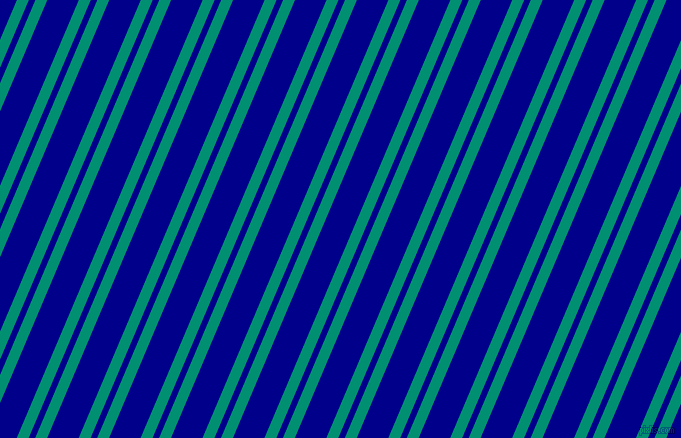 67 degree angles dual stripes line, 11 pixel line width, 6 and 29 pixels line spacing, Observatory and Dark Blue dual two line striped seamless tileable
