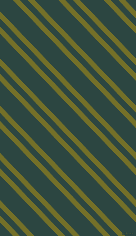 134 degree angle dual stripe line, 16 pixel line width, 18 and 55 pixel line spacing, Olivetone and Gable Green dual two line striped seamless tileable
