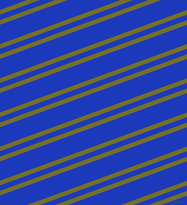 20 degree angle dual stripe line, 15 pixel line width, 18 and 63 pixel line spacing, Olivetone and Persian Blue dual two line striped seamless tileable