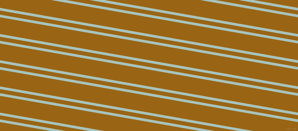 170 degree angle dual striped lines, 9 pixel lines width, 14 and 57 pixel line spacing, Opal and Golden Brown dual two line striped seamless tileable