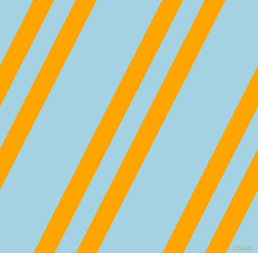 63 degree angle dual stripes lines, 37 pixel lines width, 38 and 116 pixel line spacing, Orange and French Pass dual two line striped seamless tileable
