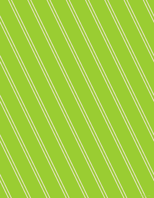 116 degree angles dual stripe line, 3 pixel line width, 6 and 48 pixels line spacing, Orange White and Yellow Green dual two line striped seamless tileable