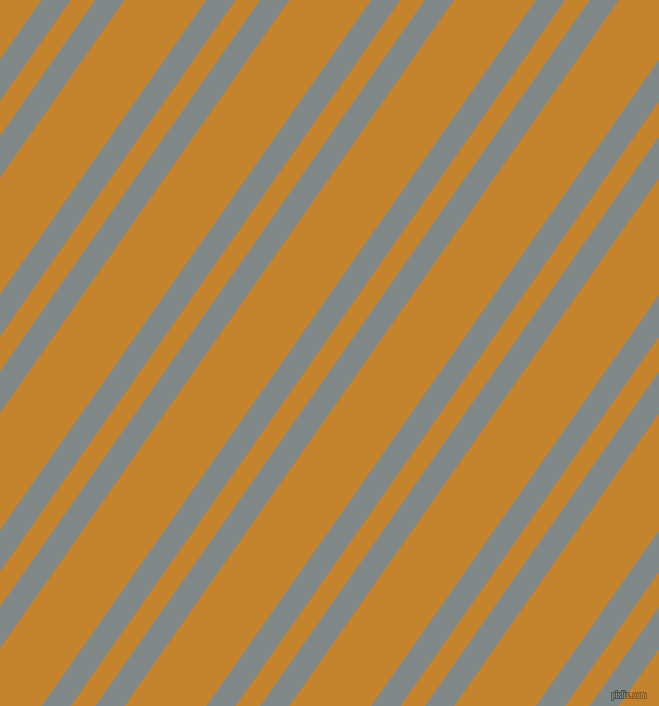 55 degree angle dual stripe lines, 24 pixel lines width, 20 and 67 pixel line spacing, Oslo Grey and Geebung dual two line striped seamless tileable