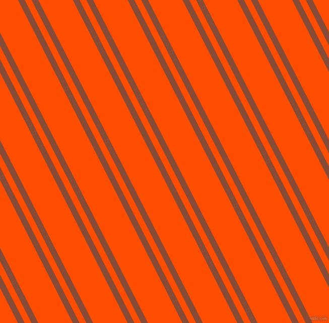 117 degree angle dual stripe line, 12 pixel line width, 12 and 61 pixel line spacing, Paarl and Vermilion dual two line striped seamless tileable