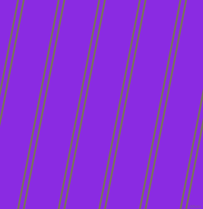 79 degree angle dual striped lines, 6 pixel lines width, 12 and 105 pixel line spacing, Pablo and Blue Violet dual two line striped seamless tileable
