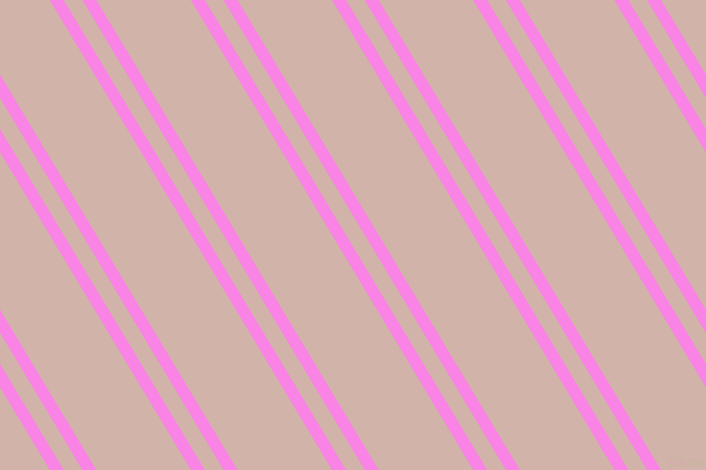 121 degree angles dual striped line, 12 pixel line width, 16 and 81 pixels line spacing, Pale Magenta and Clam Shell dual two line striped seamless tileable