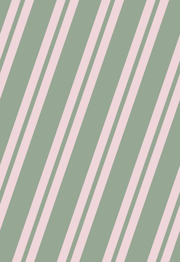 71 degree angles dual stripe line, 35 pixel line width, 18 and 89 pixels line spacing, Pale Rose and Mantle dual two line striped seamless tileable