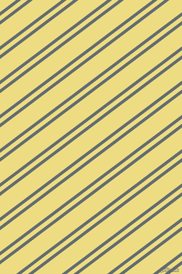 37 degree angles dual stripe lines, 6 pixel lines width, 8 and 34 pixels line spacing, Pale Sky and Flax dual two line striped seamless tileable