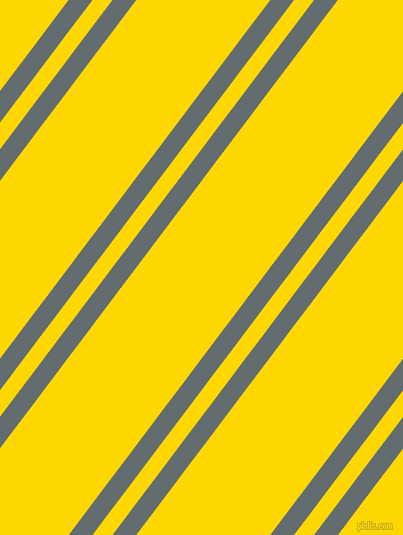 53 degree angle dual stripe line, 19 pixel line width, 16 and 107 pixel line spacing, Pale Sky and Gold dual two line striped seamless tileable