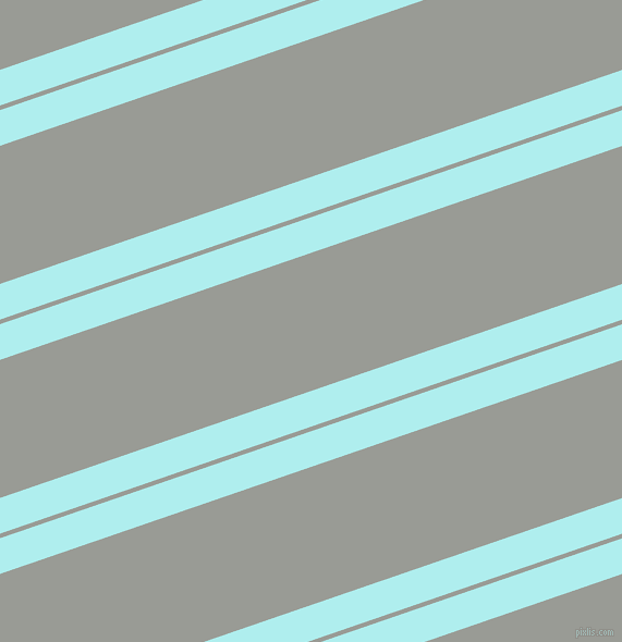 19 degree angles dual stripes lines, 31 pixel lines width, 4 and 120 pixels line spacing, Pale Turquoise and Delta dual two line striped seamless tileable