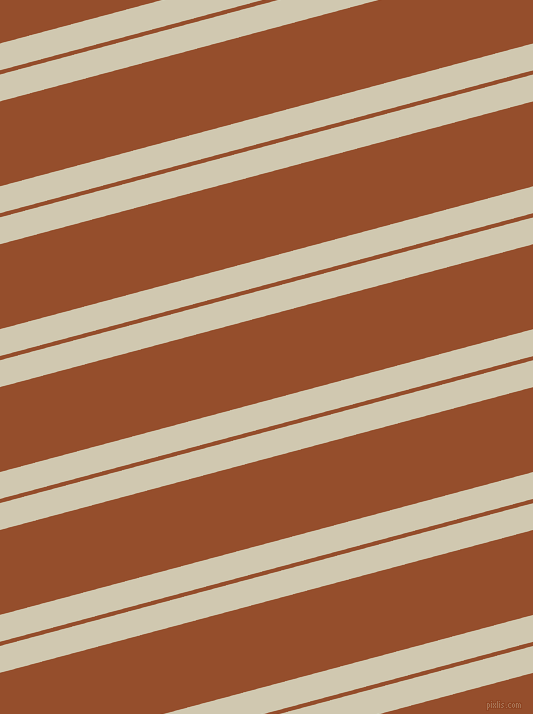 15 degree angle dual striped lines, 26 pixel lines width, 4 and 82 pixel line spacing, Parchment and Alert Tan dual two line striped seamless tileable
