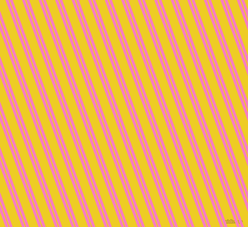 110 degree angle dual stripe lines, 6 pixel lines width, 2 and 18 pixel line spacing, Persian Pink and Broom dual two line striped seamless tileable