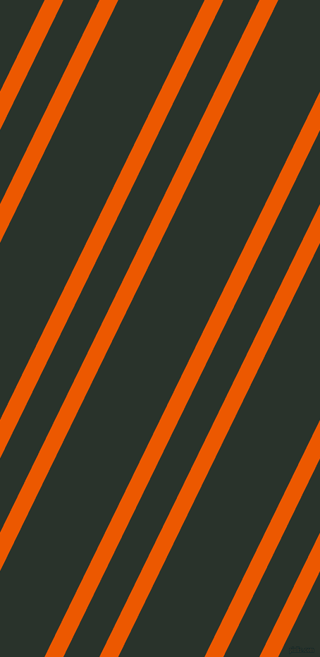 64 degree angle dual stripe line, 24 pixel line width, 46 and 110 pixel line spacing, Persimmon and Gordons Green dual two line striped seamless tileable