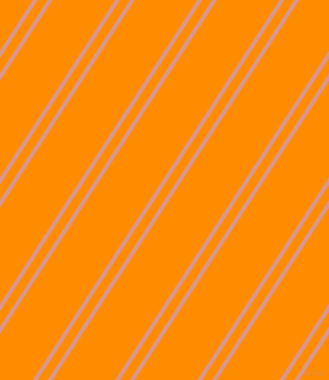 57 degree angles dual stripe line, 6 pixel line width, 12 and 76 pixels line spacing, Petite Orchid and Dark Orange dual two line striped seamless tileable