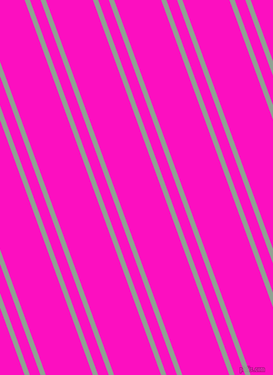 110 degree angle dual stripe lines, 7 pixel lines width, 14 and 62 pixel line spacing, Pewter and Shocking Pink dual two line striped seamless tileable
