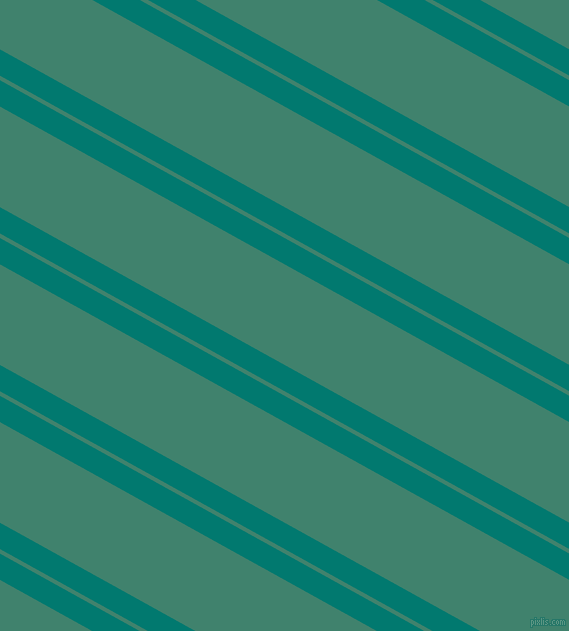 151 degree angle dual striped line, 23 pixel line width, 4 and 88 pixel line spacing, Pine Green and Viridian dual two line striped seamless tileable