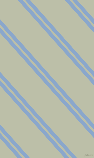 132 degree angle dual stripe line, 15 pixel line width, 8 and 107 pixel line spacing, Polo Blue and Beryl Green dual two line striped seamless tileable