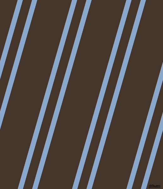 74 degree angles dual stripe line, 16 pixel line width, 28 and 106 pixels line spacingPolo Blue and Dark Rum dual two line striped seamless tileable