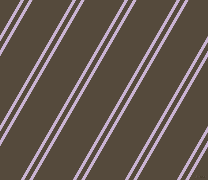60 degree angle dual striped lines, 10 pixel lines width, 14 and 113 pixel line spacing, Prelude and Metallic Bronze dual two line striped seamless tileable