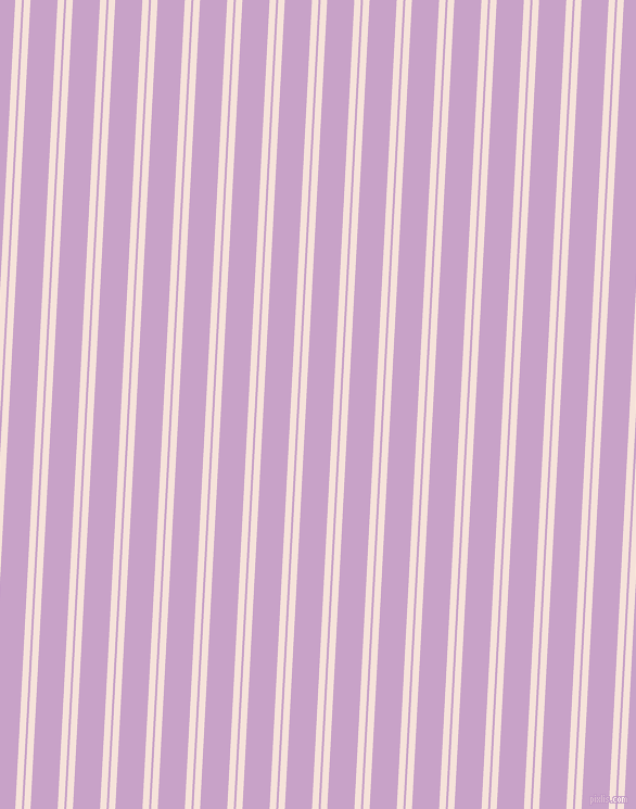 87 degree angles dual stripes line, 6 pixel line width, 2 and 25 pixels line spacing, Provincial Pink and Lilac dual two line striped seamless tileable