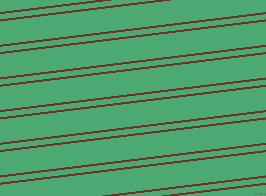 7 degree angles dual striped lines, 7 pixel lines width, 18 and 80 pixels line spacing, Pueblo and Ocean Green dual two line striped seamless tileable